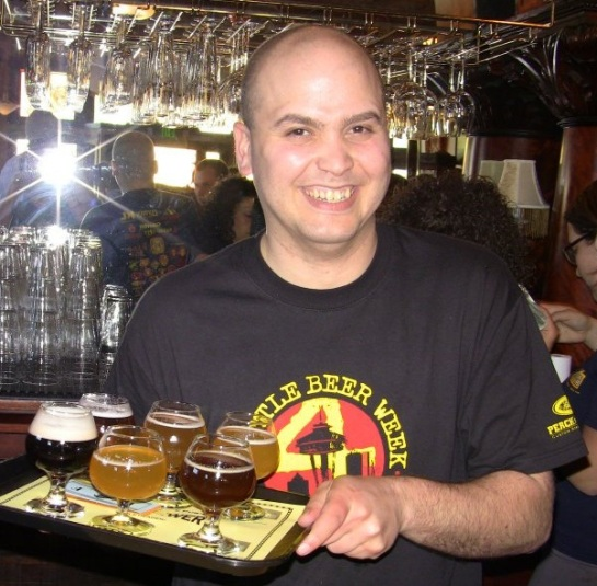 Beveridge Place Pub's Knowledgeable & Friendly Server: Robert Farris