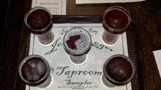 My Jolly Roger Taster Tray
