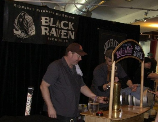 Balck Raven Brewing At Belgianfest 2012