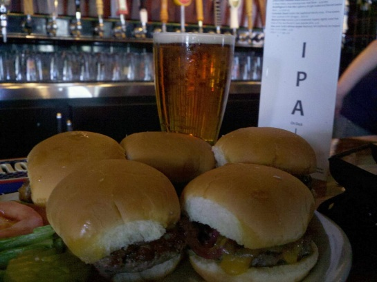 The Awesome Sliders At Cooper's Alehouse