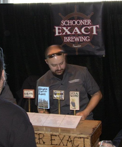 Schooner Exact Brewing At Belgianfest 2012