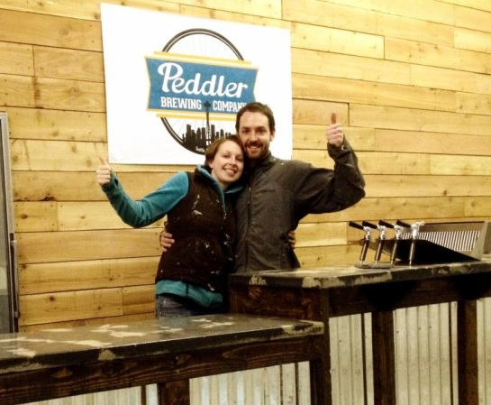 Peddler Brewing Founders Haley And David Keller
