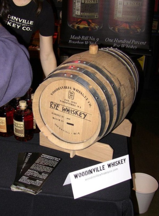 Woodinville Whiskey at Chocofest 2013