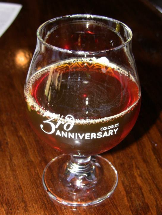 Airways Brewing's 3rd Anniversary Belgian Dark Strong Ale