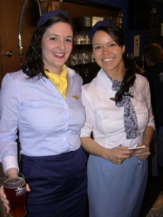 Your Airways Brewing Flight Attendants