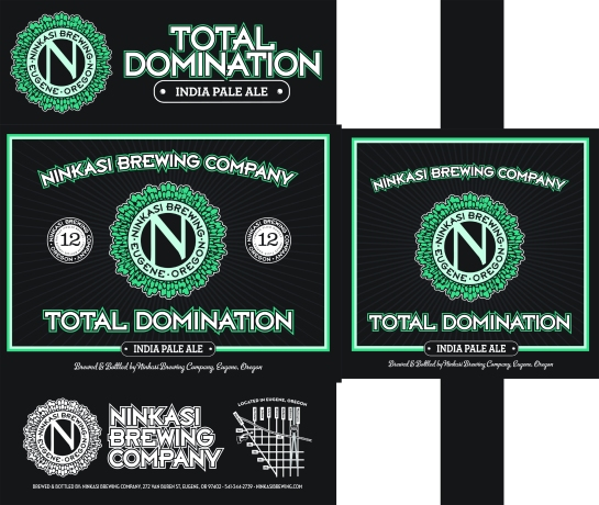 The Look Of The 'Total Domination' 12 Pack