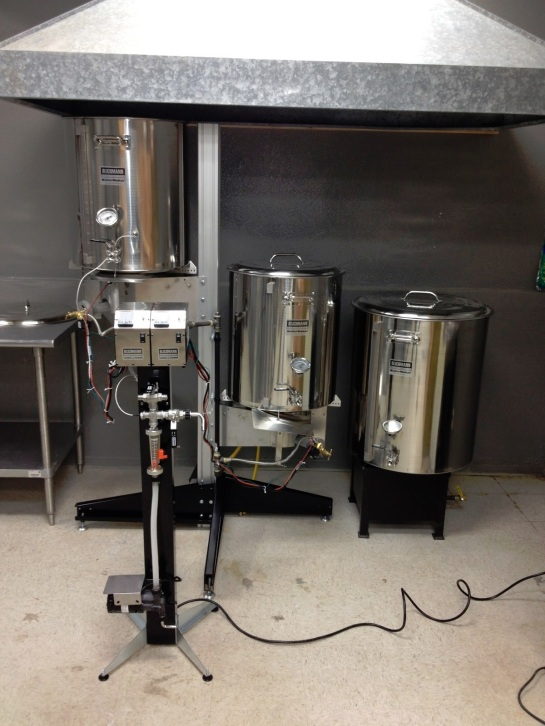 Standard Brewing's Brew System
