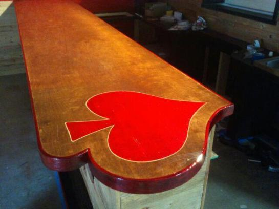 The Bartop At Bad Jimmy's - Classy
