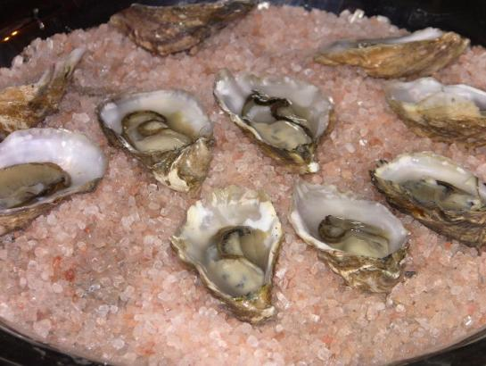 Cold Smoked Raw Oysters At Gastropod