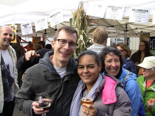 My Wife, Lynn, At Last Year's Festival - Where We Ran Into Adam Gherke Form Q13 Fox News