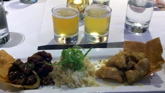 Mongolian Beef and Crispy Orange Glazed Chicken