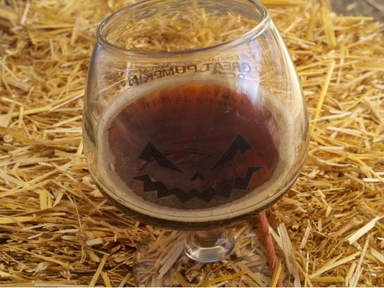 Pumpkin Beer Taster Glass