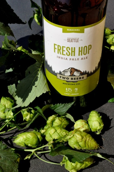 Two Beers Brewing Company's 2013 Fresh Hop Ale