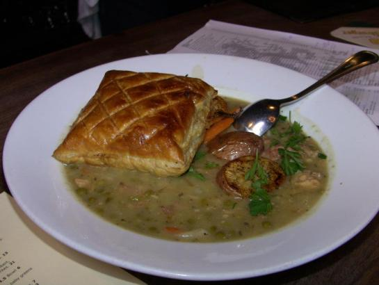 Rabbit Pot Pie At Hopfest 2012