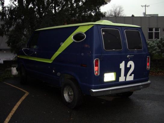 'The 12th Van' - Bad Jimmy's Delivery Van