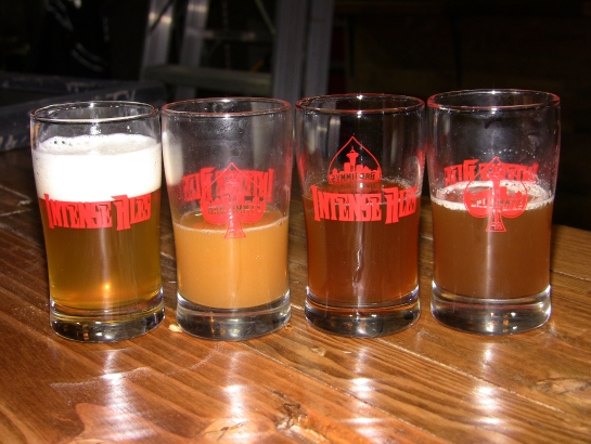 My Tasters: Pale, IPA, Red & Habañero Amber