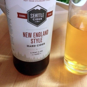 Seattle Cider Company New England Style Cider