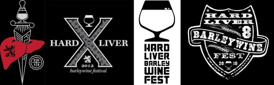 Logos From Previous Hard Liver Festivals
