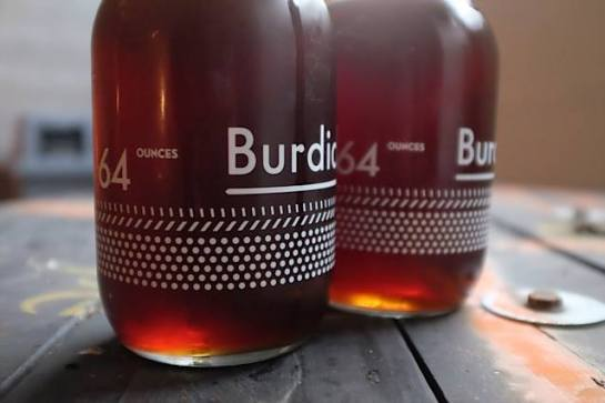 A Couple Of Full Growlers At Burdick Brewery