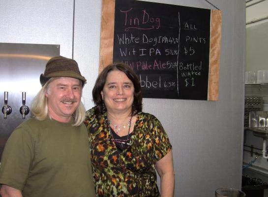 Tin Dog Founders, Lisa & Eric Rough