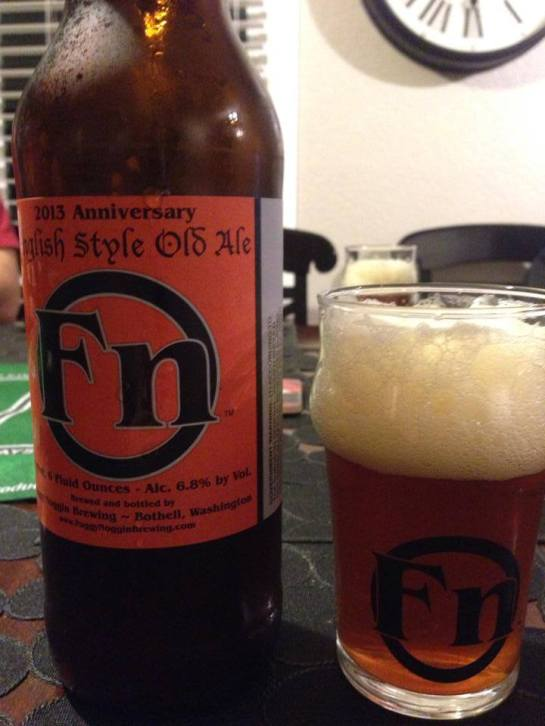 Foggy Noggin Brewing's 2013 - 3rd Anniversary English Old Ale