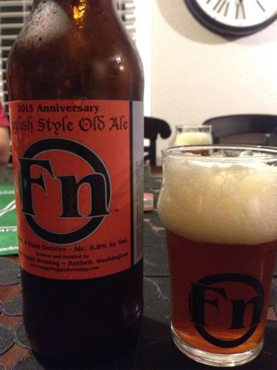 Foggy Noggin Brewing's 2013 - 3rd Anniversary English Old Ale