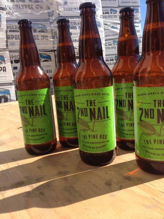 The Pine Box's 2nd Anniversary Beer: The 2nd Nail