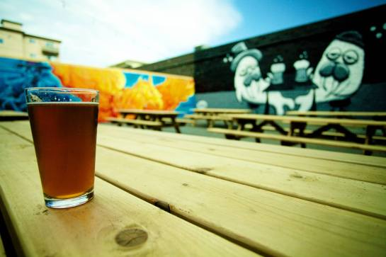 The Walrus Beer Garden At Naked City Brewery & Taphouse