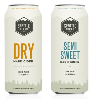 Seattle Cider Company Dry Cider And Semi Sweet Cider