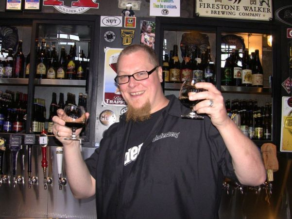 Matt Bonney At The 'Back In Black' Stout Fest At Brouwer's Cafe In 2013