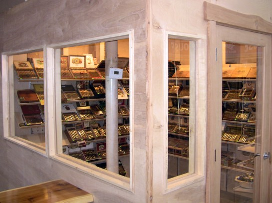 The Walk-In Cigar Humidor At Stogies 'N Hops