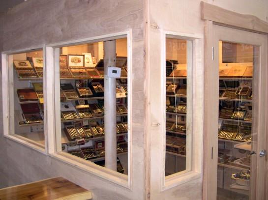 The Walk-In Cigar Humidor At Stogies 'N Hops