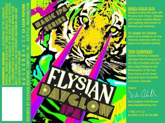 Elysian Brewing Dayglow IPA