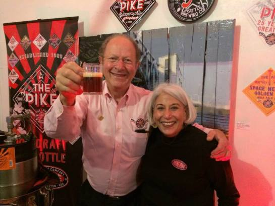 Pike Brewing Company Founders: Charles & Rose Ann Finkel