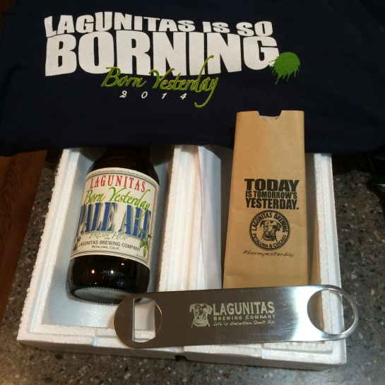 My 'Born Yesterday' Care Package From Lagunitas Brewing Company