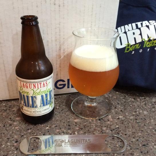 Tasting 'Born Yesterday' From Lagunitas Brewing Company