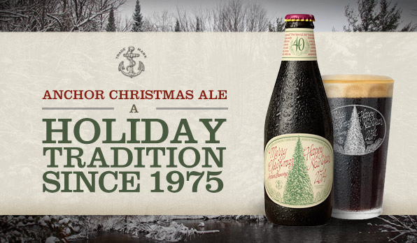 anchorchristmasale40 - Anchor Brewing Christmas Ale
