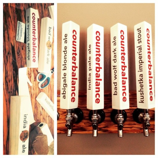 Counterbalance Brewing Tap Handles