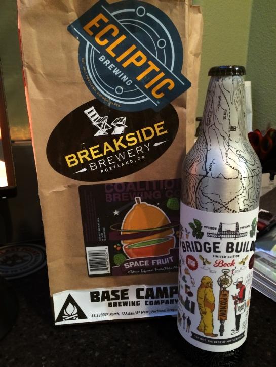 Bridge Builder Bock From Base Camp Brewing Company