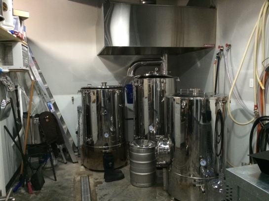 Outer Planet Brewing's 3 Barrel Brew System