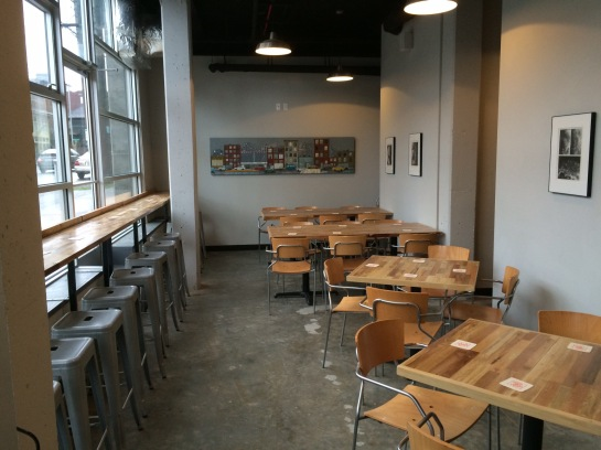 Outer Planet Brewing's Spacious Taproom