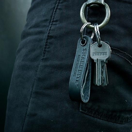 A Snake Bite On A Keychain