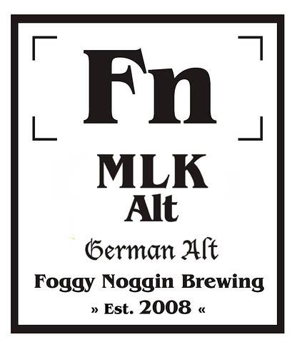 Foggy Noggin Brewing MLK Altbier