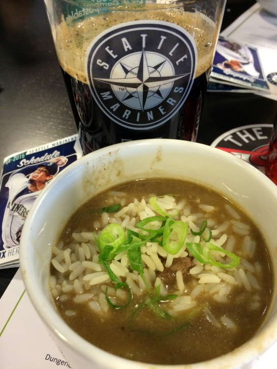 Pacific Seafood Gumbo (With Pike Brewing XXXXX Stout)