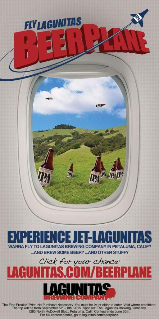 FlyLagunitasBeerPlanePoster