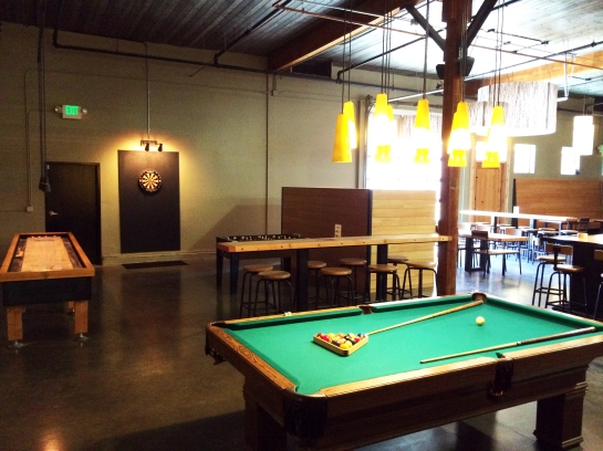 Pool, Darts, Foosball & Shuffleboard