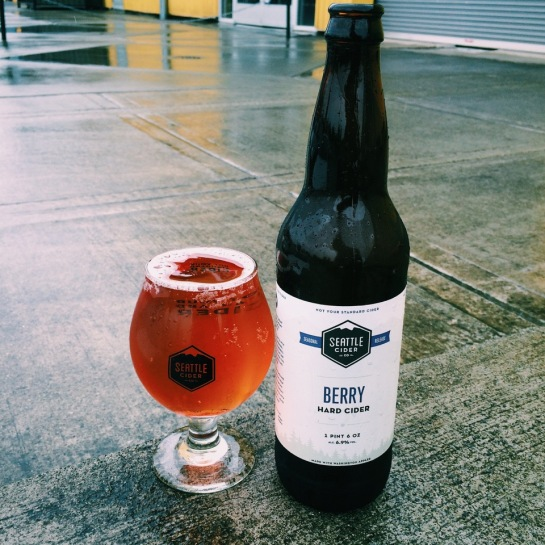 Seattle Cider Company Berry Cider