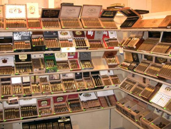 The Walk-In Humidor At Stogies n Hops