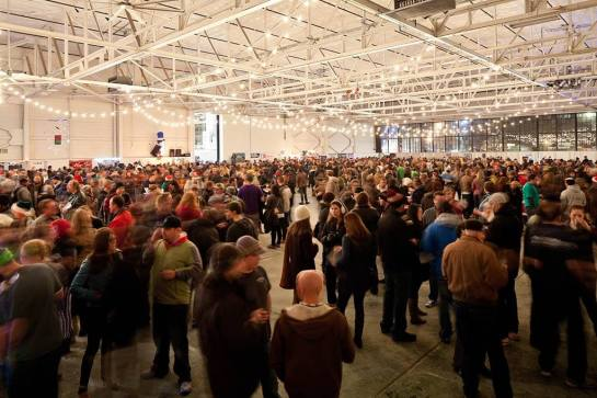 The Crowd At The 2014 Winter Beer Festival