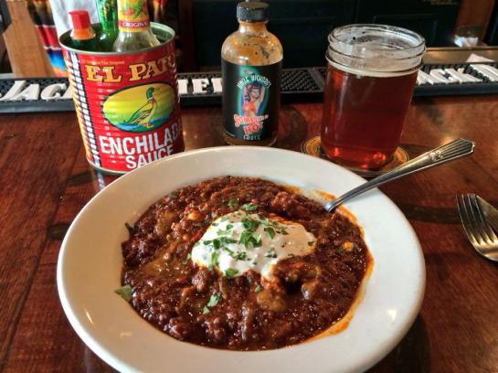 Texas Red Chili At Slim's Last Chance (SoDo)